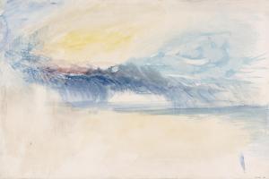 Sea and Sky by JMW Turner
