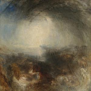 Shade and Darkness - the Evening of the Deluge by JMW Turner