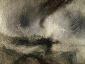 Snow Storm: Steam-Boat Off a Harbour's Mouth by JMW Turner
