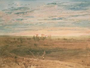 Stonehenge by JMW Turner