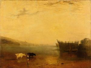 Teignmouth Harbour, c.1812 by JMW Turner