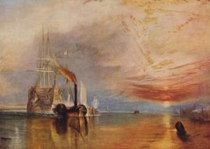 'The Fighting Temeraire', 1839 by JMW Turner