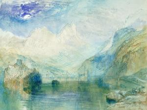 The Lowerzer See by JMW Turner