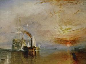 The Temeraire Towed to Her Last Berth (AKA The Fighting Temraire) by JMW Turner