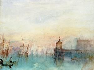 Venice with a First Crescent Moon by JMW Turner
