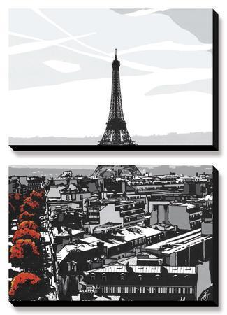 Paris I by Jo Fairbrother