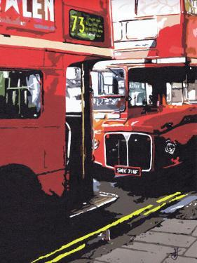 Routemasters London by Jo Fairbrother