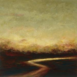 Sunset River by Jo Mathers