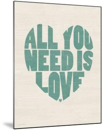 All You Need is Love by Jo Moulton