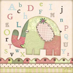 Alphabet Elephant by Jo Moulton