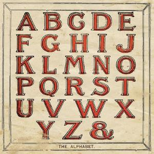 Alphabet by Jo Moulton