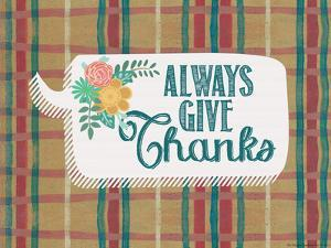 Always Give Thanks by Jo Moulton