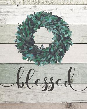 Blessed Wreath II by Jo Moulton