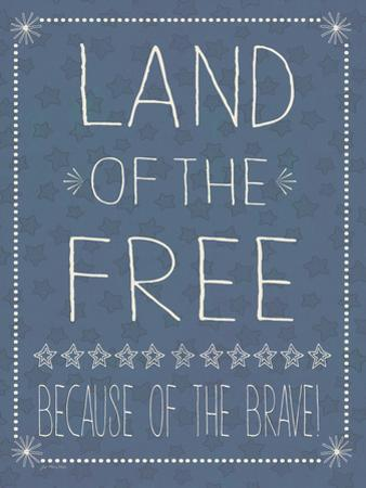 Blue Land of the Free by Jo Moulton