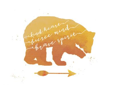 Brave Bear by Jo Moulton