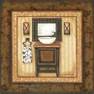 Copper Paisley Bath II by Jo Moulton