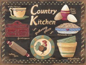 Country Kitchen by Jo Moulton