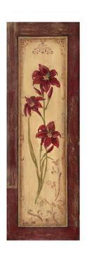 Crimson Blooms II by Jo Moulton
