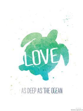 Deep as the Ocean by Jo Moulton