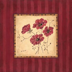 Designer Poppies I by Jo Moulton