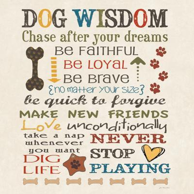 Dog Wisdom by Jo Moulton