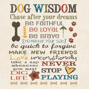 Dog Wisdom by Jo Moulton