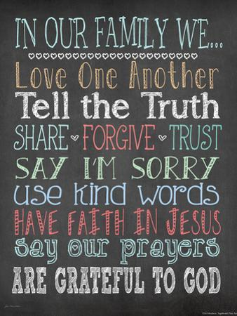 Faith Family Rules by Jo Moulton