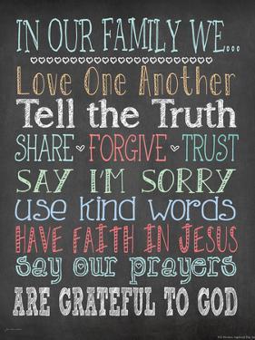 Faith Family Rules by Jo Moulton