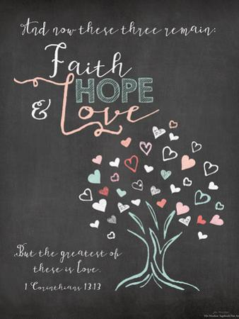 Faith Hope and Love by Jo Moulton