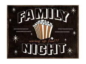 Familly Night by Jo Moulton