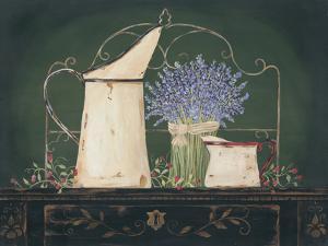 Floral with Lavendar by Jo Moulton