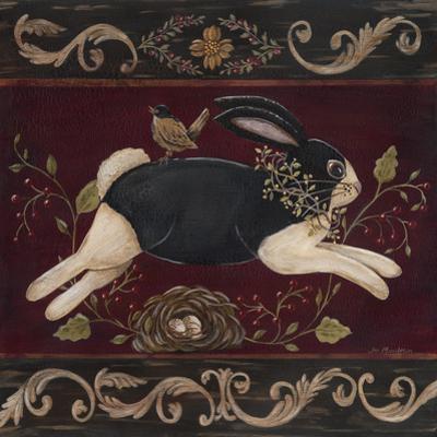 Folk Bunny I by Jo Moulton