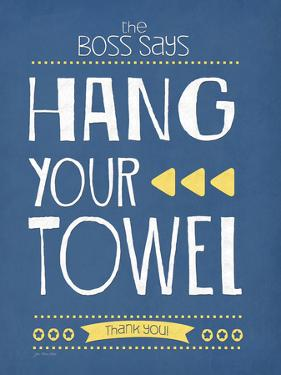 Hang Your Towel by Jo Moulton