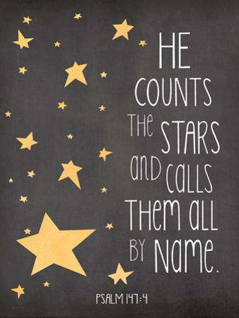 He Counts the Stars by Jo Moulton