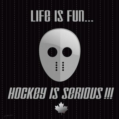 Hockey Is Serious by Jo Moulton