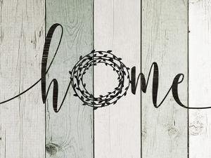 Home Rustic Wreath II by Jo Moulton