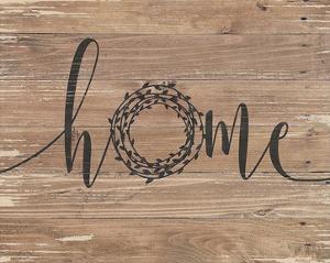 Home Rustic Wreath by Jo Moulton