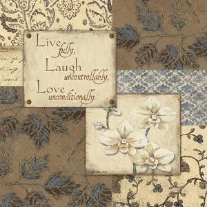 Live Laugh Love by Jo Moulton