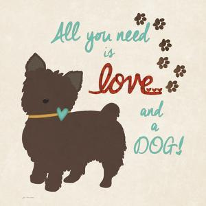 Love and a Dog by Jo Moulton