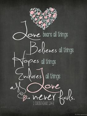 Love Never Fails by Jo Moulton