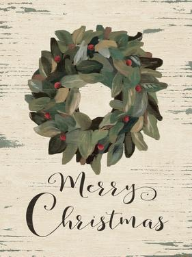 Merry Christmas Wreath by Jo Moulton
