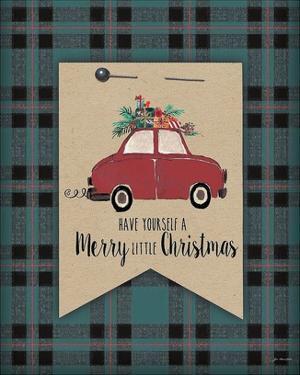 Merry Little Christmas Plaid by Jo Moulton