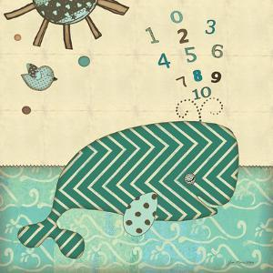 Number Whale by Jo Moulton