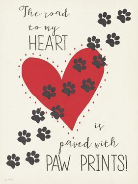 Paw Prints by Jo Moulton
