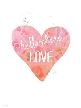 Pink Hello Love by Jo Moulton