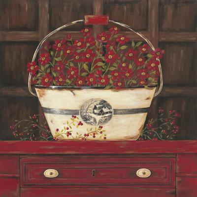 Red Cupboard II by Jo Moulton