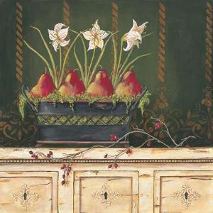 Red Pears by Jo Moulton