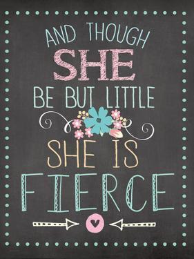 She Is Fierce by Jo Moulton