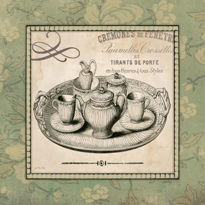 Vintage Green Tea Set by Jo Moulton
