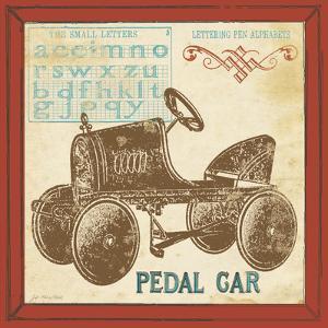 Vintage Pedal Car by Jo Moulton
